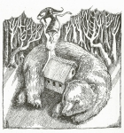 The Bear Outside 2 by Rima Staines