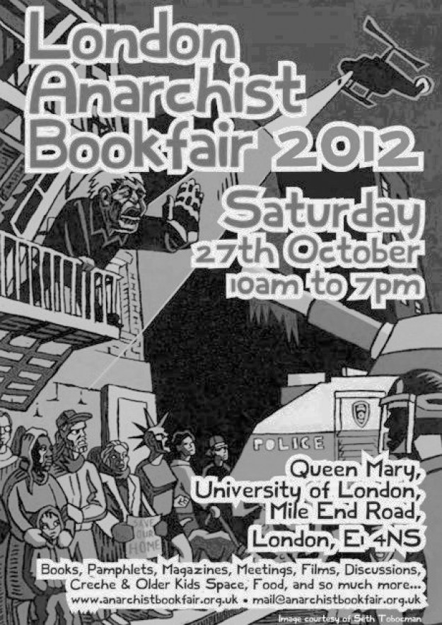 London Anarchist Bookfair 2012