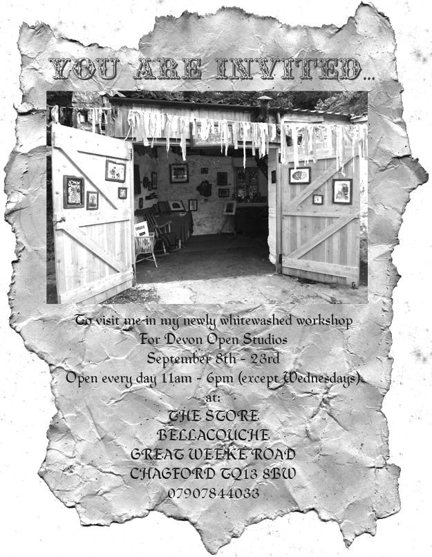 Devon Open Studios invitation