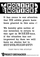 greenjacker-notice